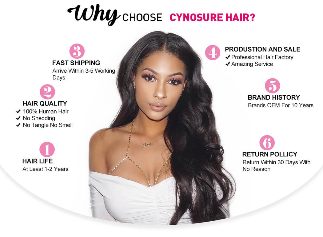 Why do you choose cynosure hair