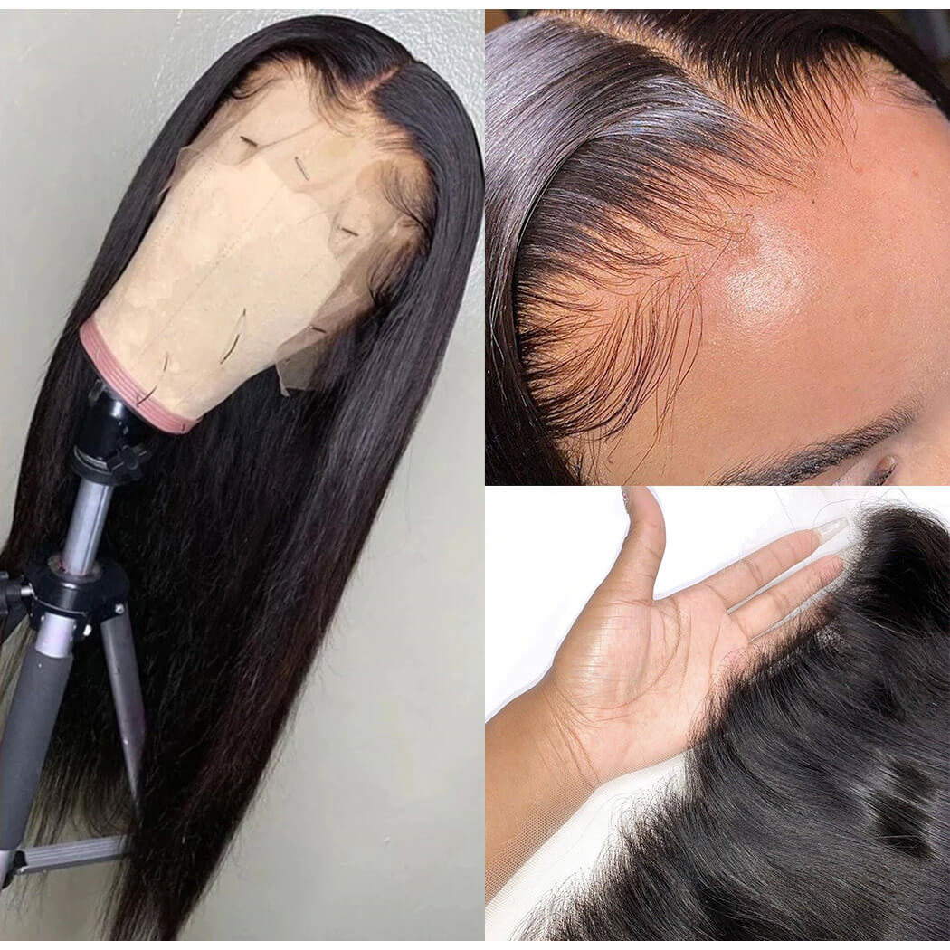 straight hd lace wig