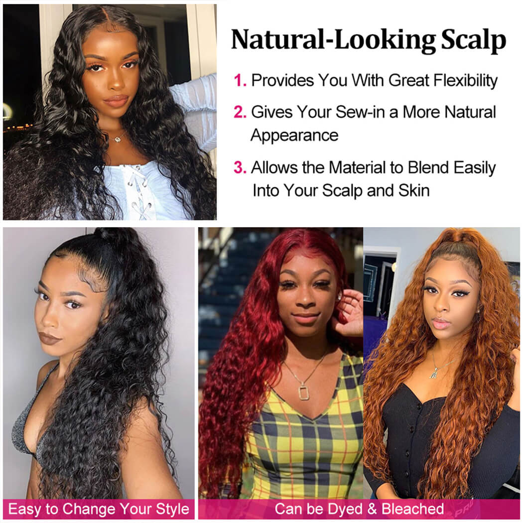 lace front human hair wigs pre plucked