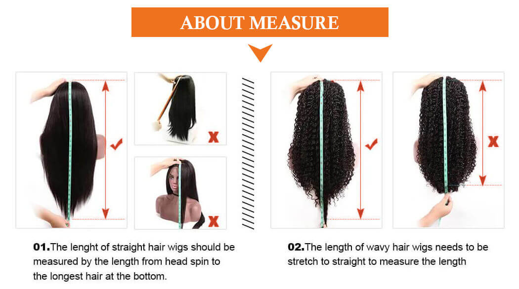 13x4 Lace Front Human Hair Wigs For Women Pre Plucked Remy Lace Frontal Wig With Baby Hair