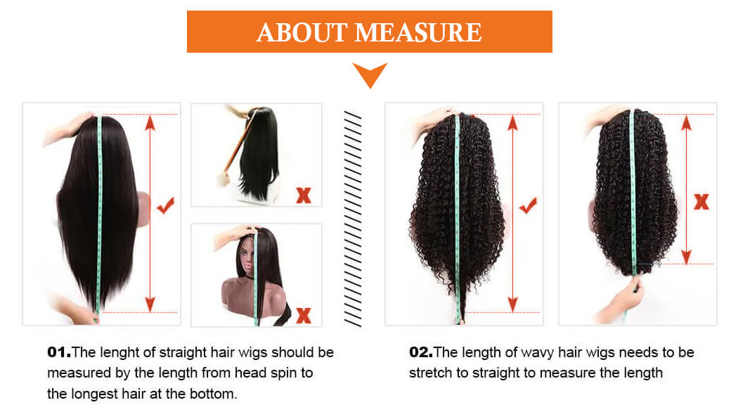Lace Front Human Hair Wigs Brazilian Straight Lace Front Wig