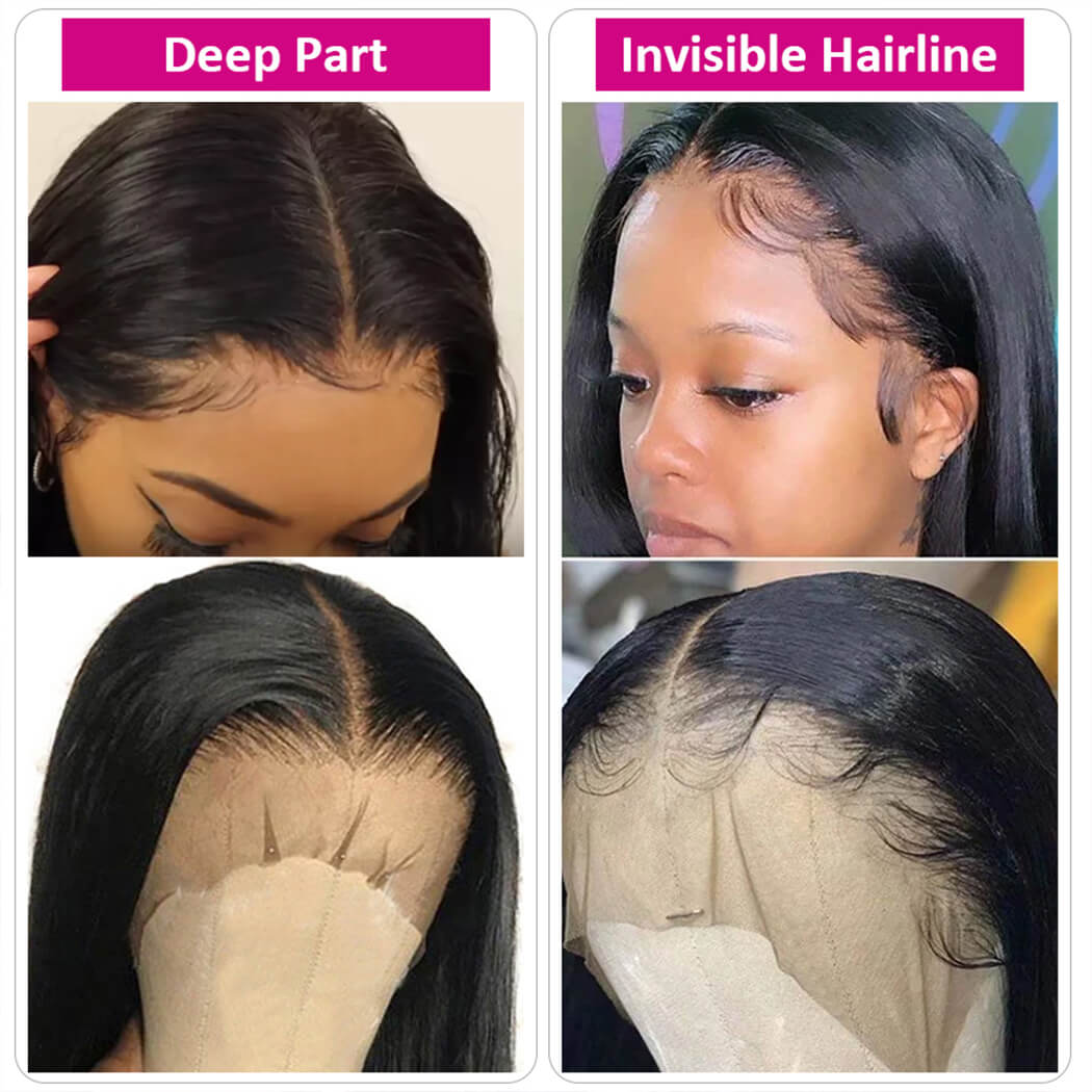 unprocessed human hair wigs