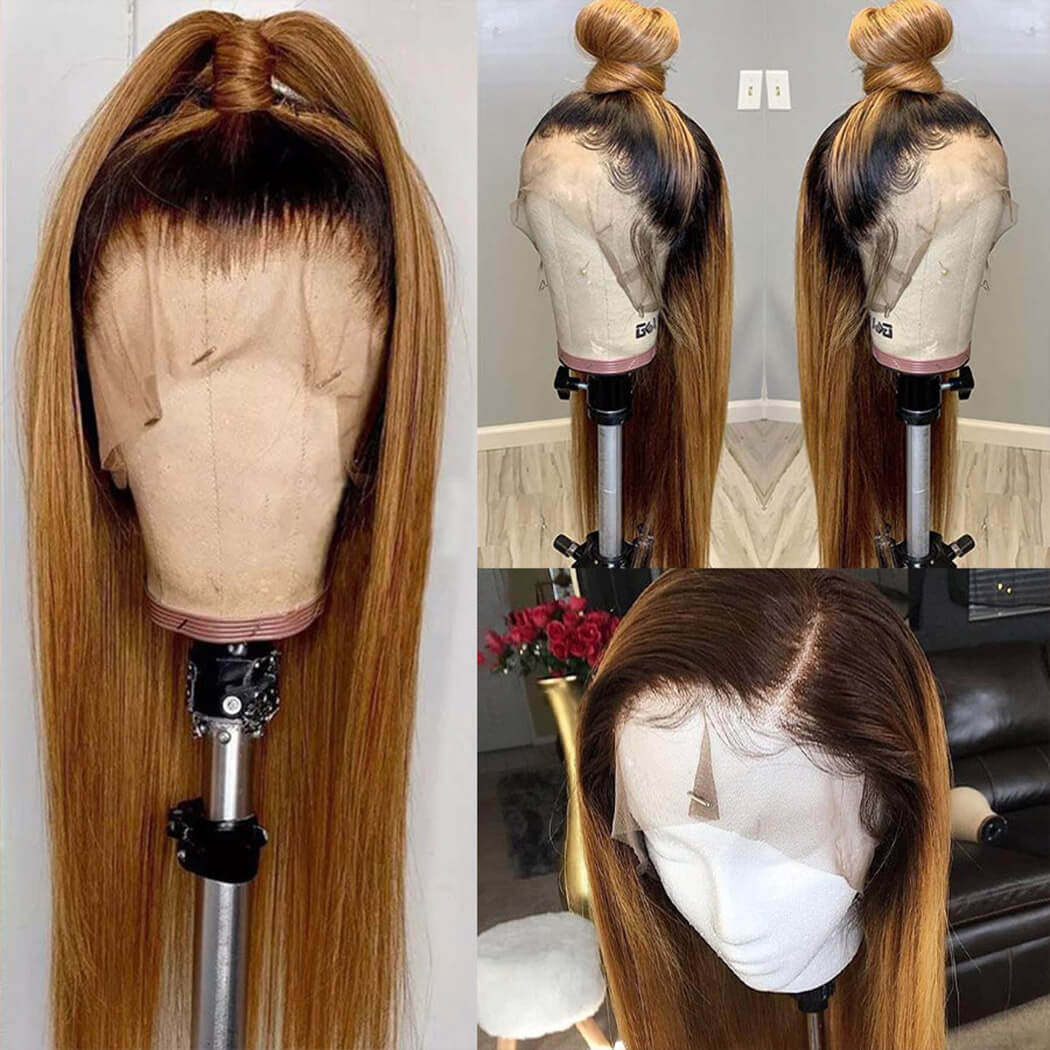 lace front human hair wigs ombre