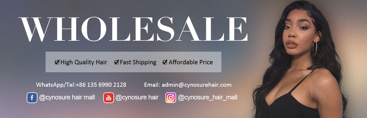 Cynosure wholesale hair lace wig