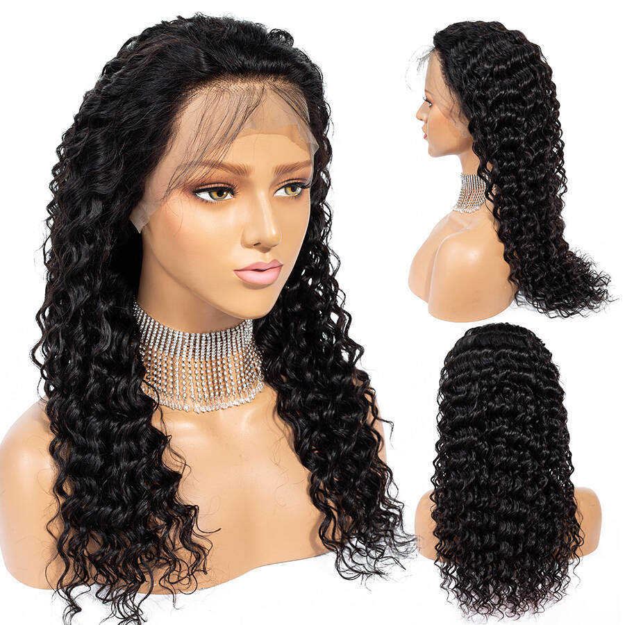 Deep Wave HD Lace Wig Product Show