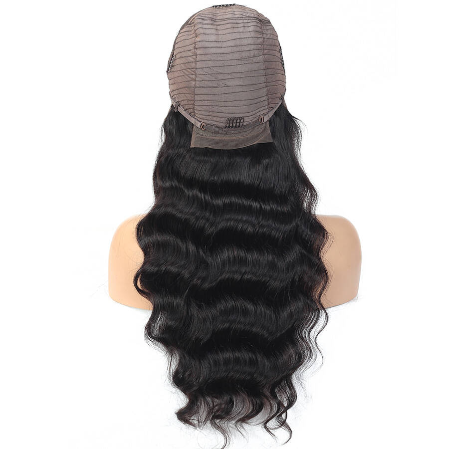 Loose Deep Wave HD Lace Wig Cap Back