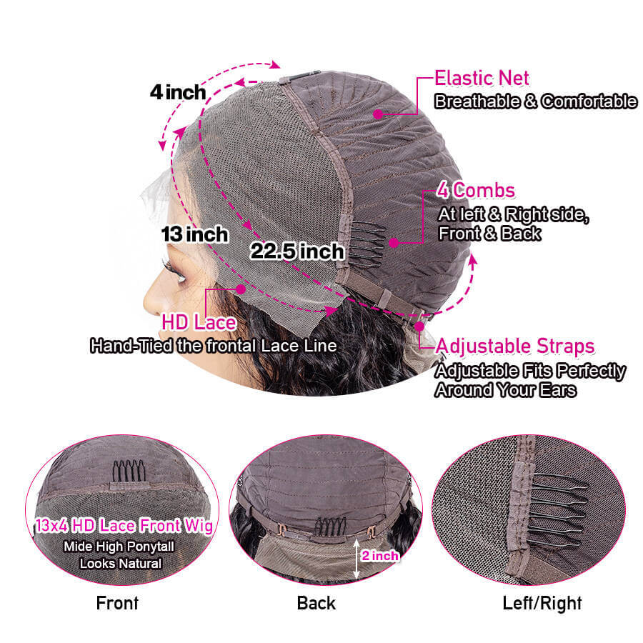 13x4 Lace Cap Description