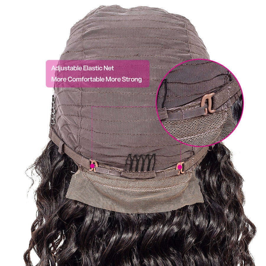 Deep Wave 13x4 Lace Cap Back Show