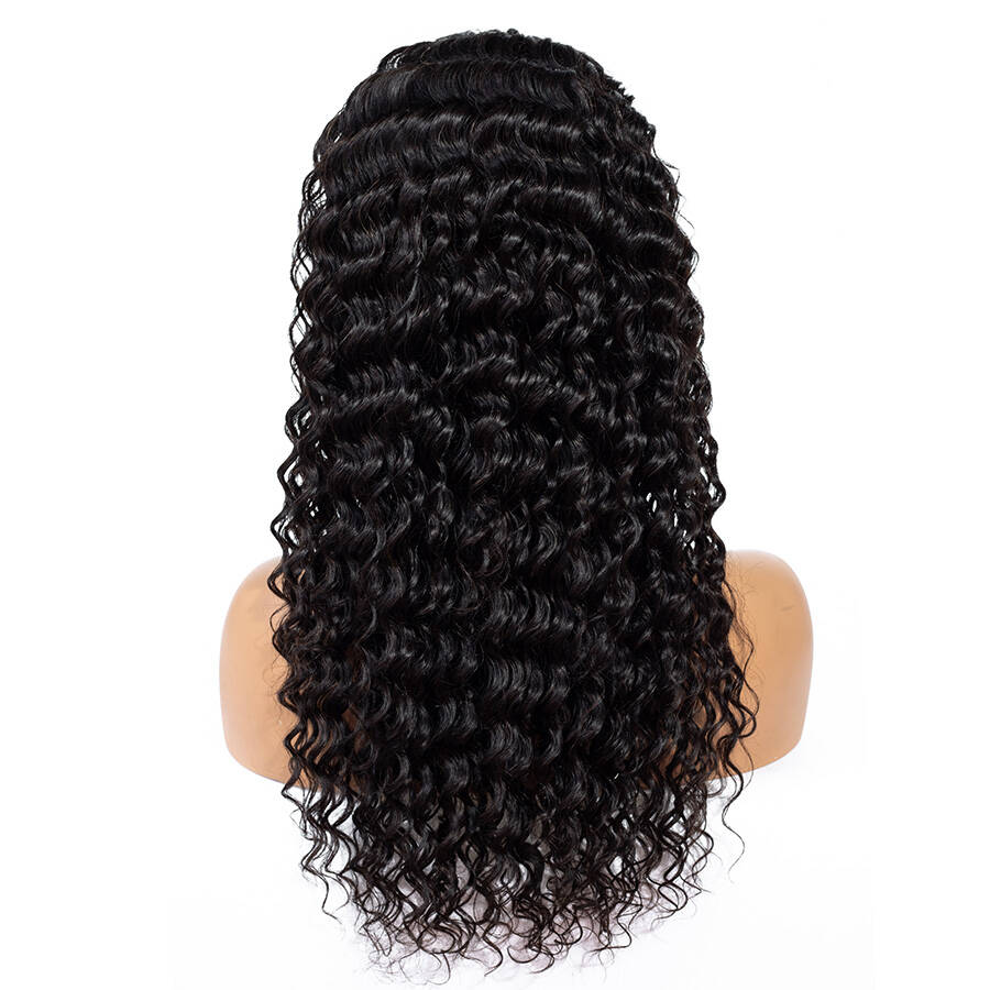 Deep Wave HD Lace Wig With Different Hair Style