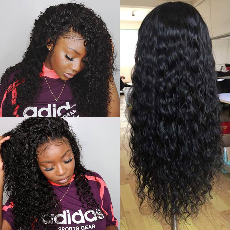 Water Wave HD Lace Wig Youtubers Show