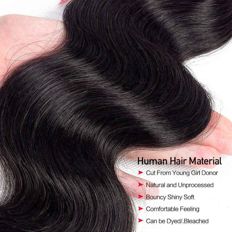 Body Wave 13x4 HD Lace Frontal Material Description