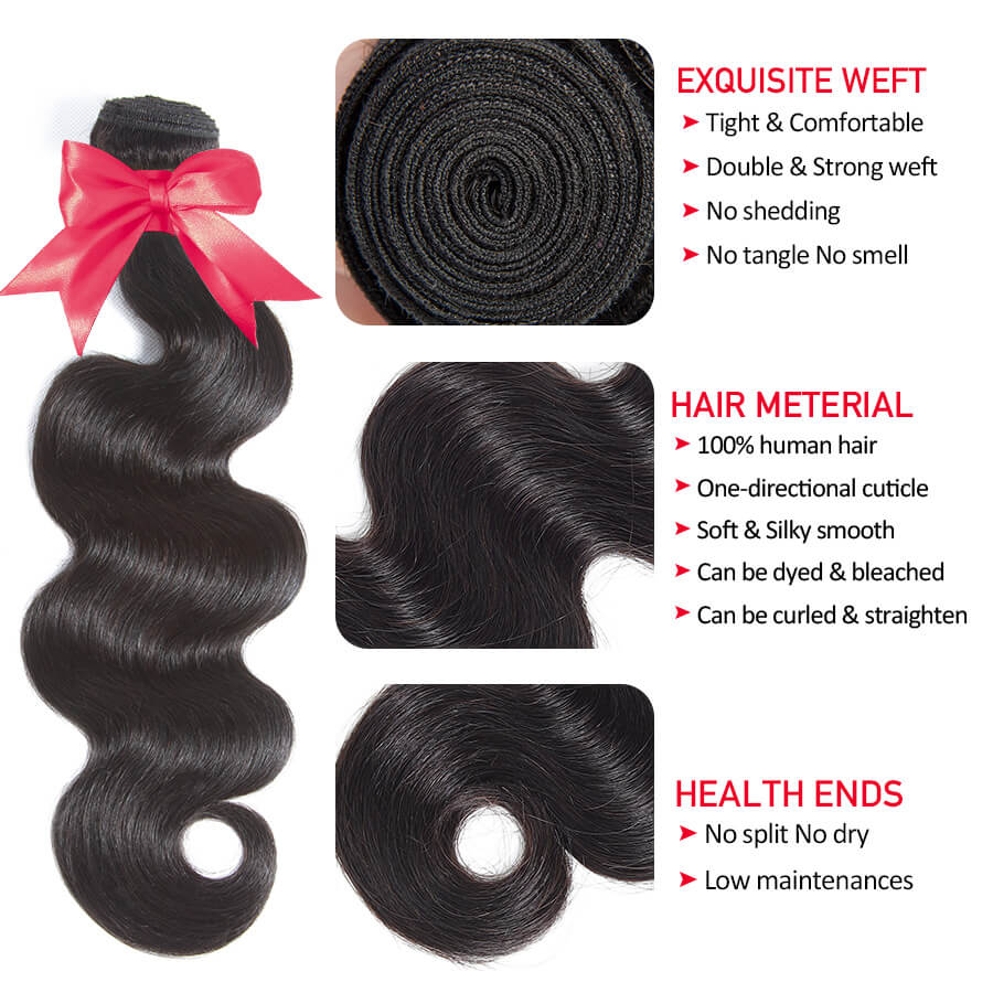 Body Wave Hair Bundles Description