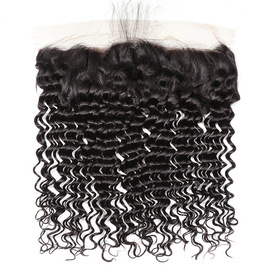 Deep Wave 13x4 HD Lace Frontal Front Show