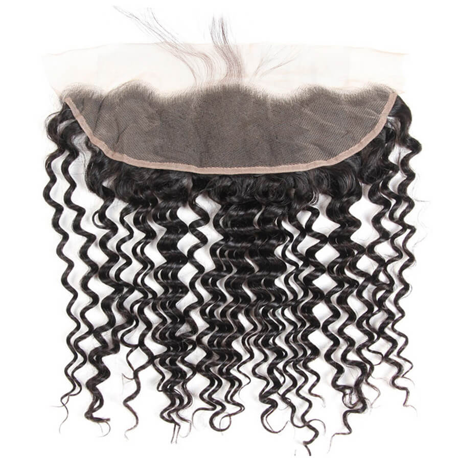 Deep Wave 13x4 HD Lace Frontal Lace Back Show