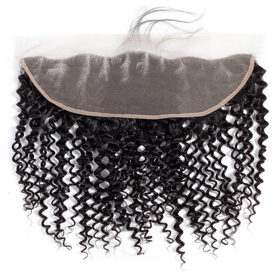 Curly Hair HD 13x4 Lace Frontal Lace Back