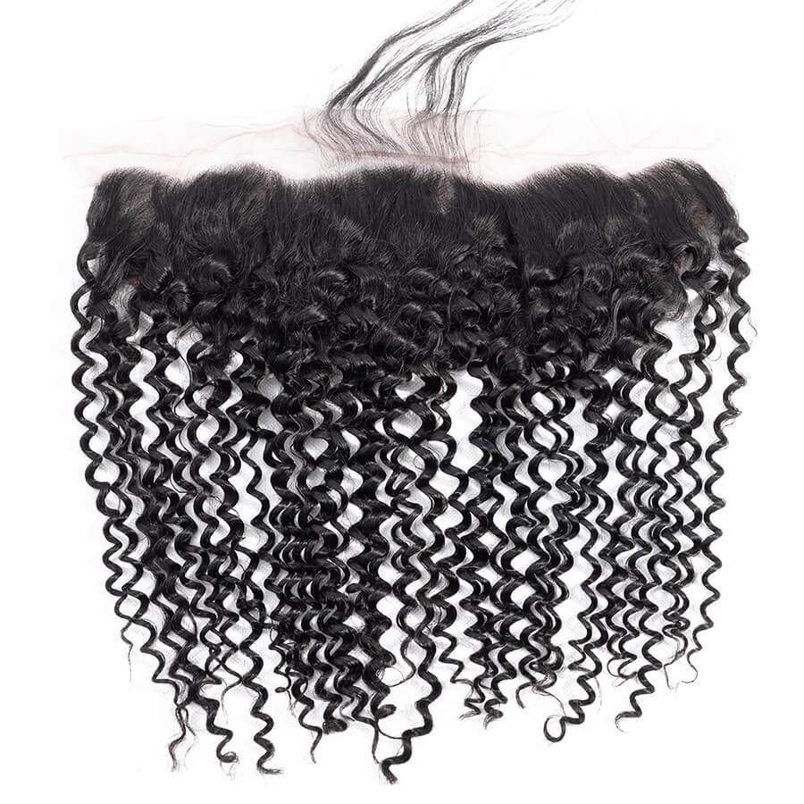 Curly HD 13x4 Lace Frontal Front Show