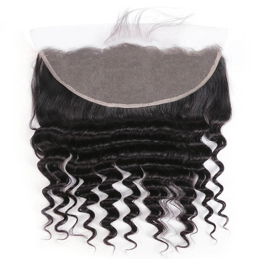 Loose Deep Wave 13x6 HD Lace Frontal Lace Back Show