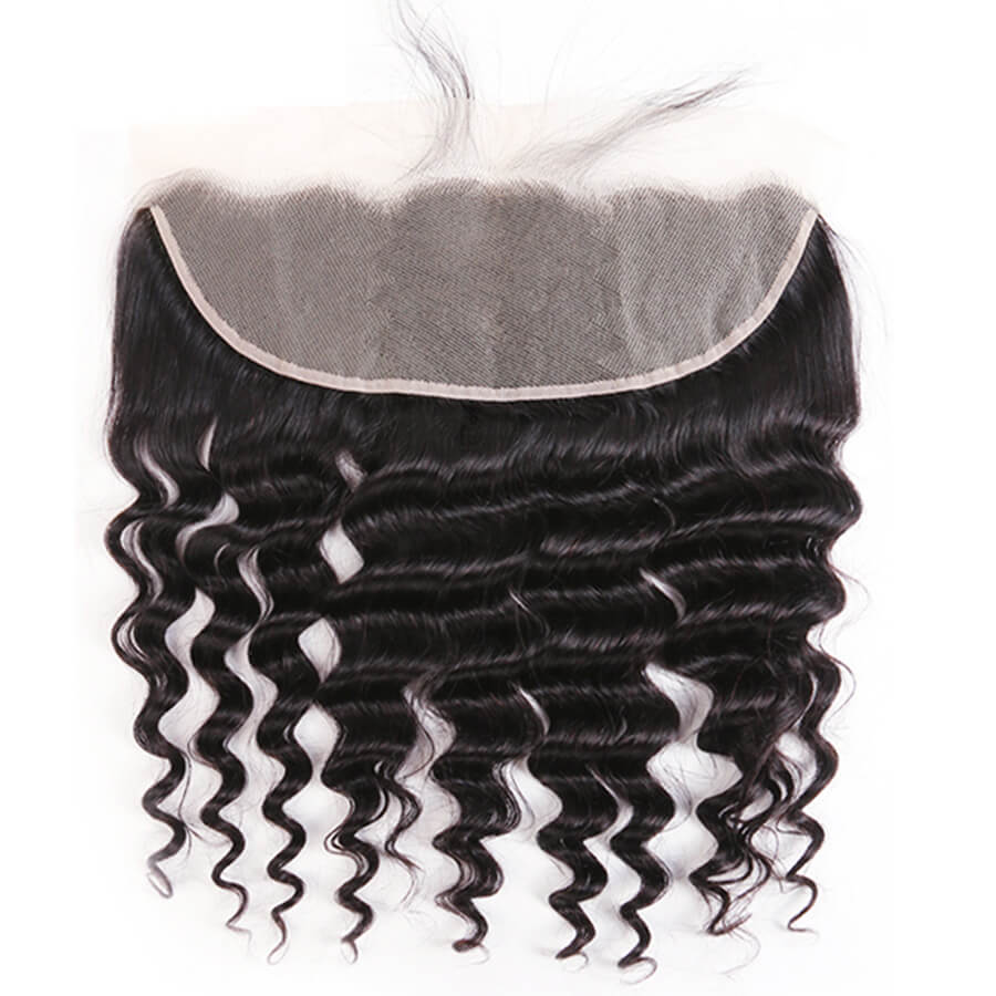 Loose Deep Wave 13x4 HD Lace Frontal Lace Back Show