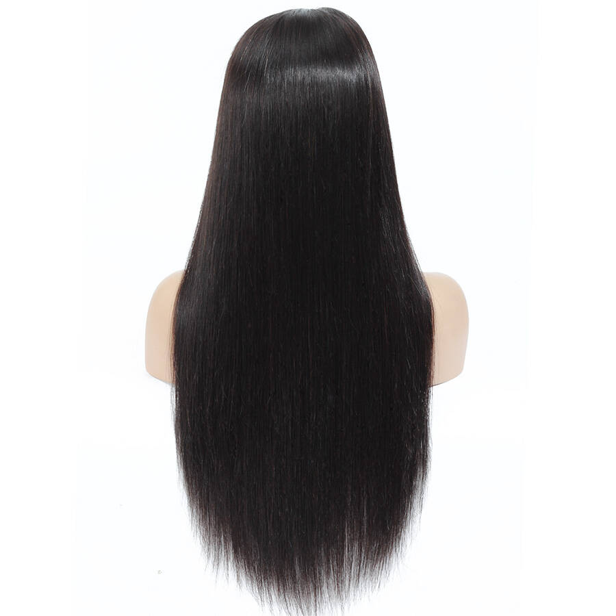 Straight HD Full Lace Wig Back Show
