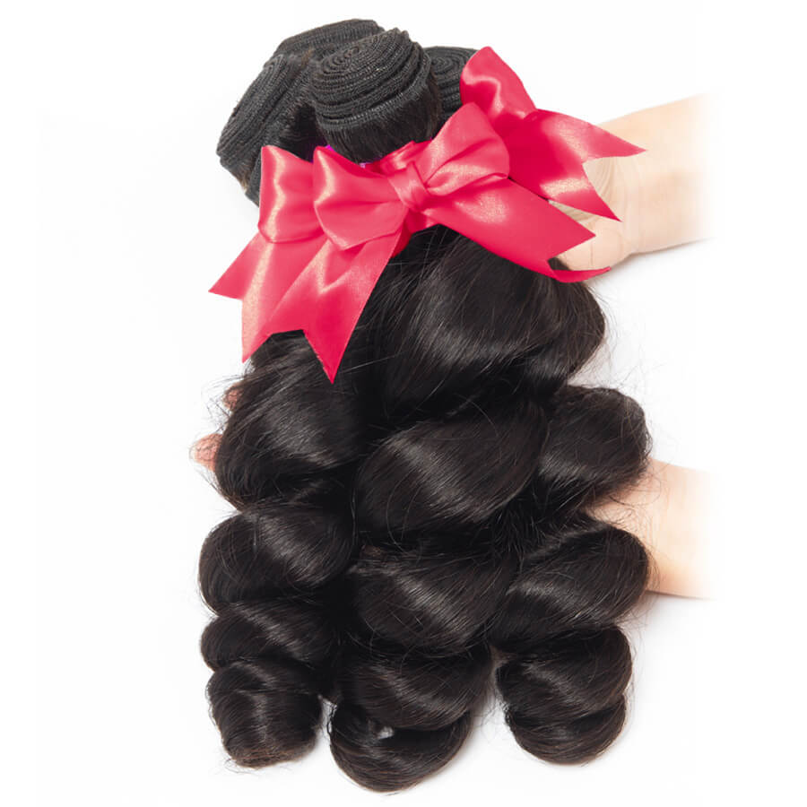 Loose Wave 3 Bundles Hair Show