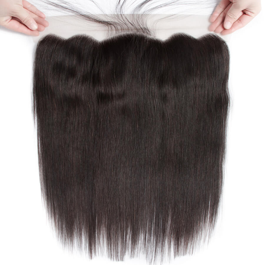 Straight Hair 13x4 HD Lace Frontal Front Show