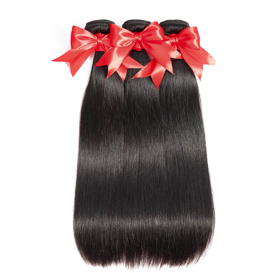 Straight Hair 3 Bundles Show