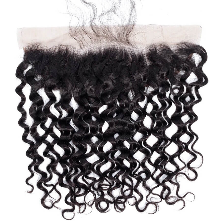 Water Wave 13x4 HD Lace Frontal Front Show