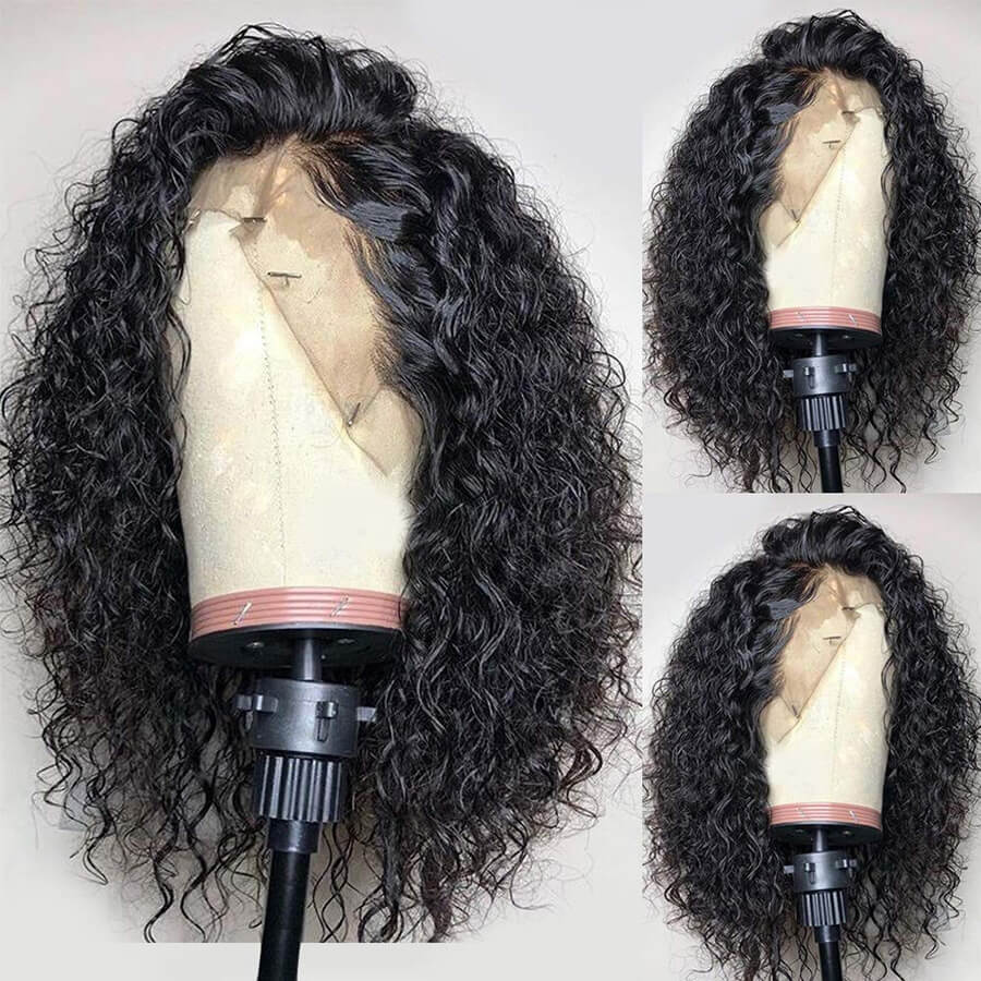HD curly bob lace front wigs