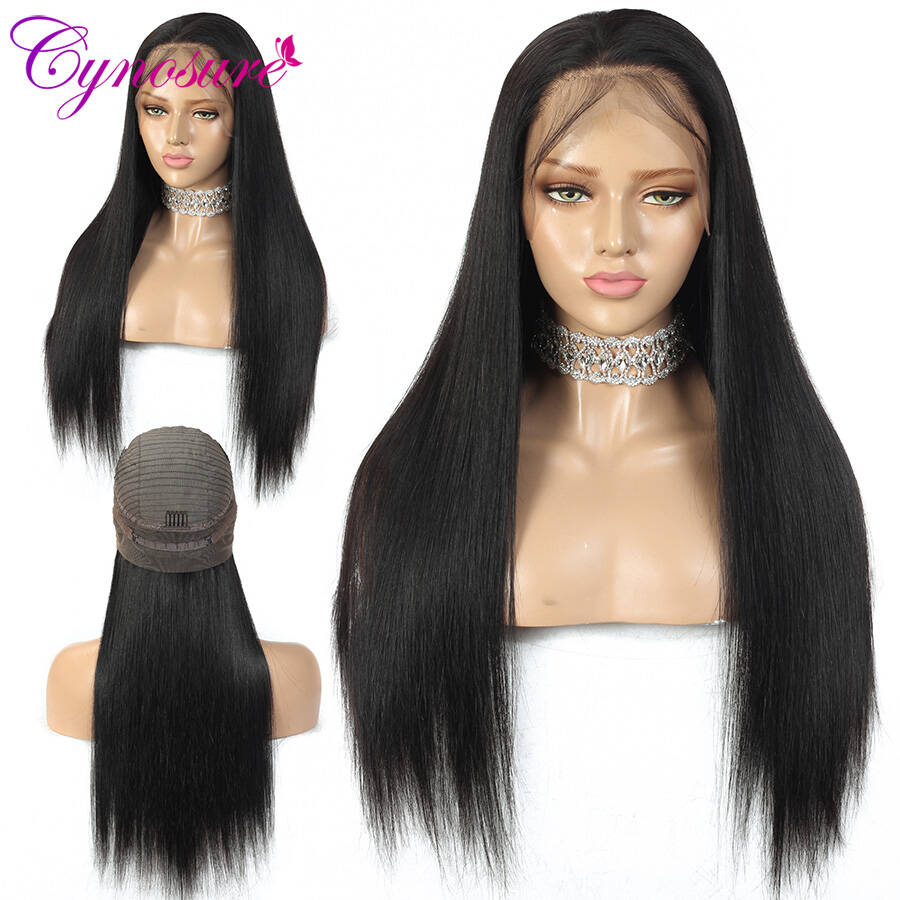 straight 370 lace frontal wig